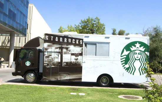 Starbucks trucks are coming to campus